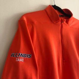Illinois SAAC Nike Golf Zip Up